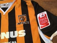 Global Football Shirts | 2005 Hull City Vintage Old Soccer Jerseys